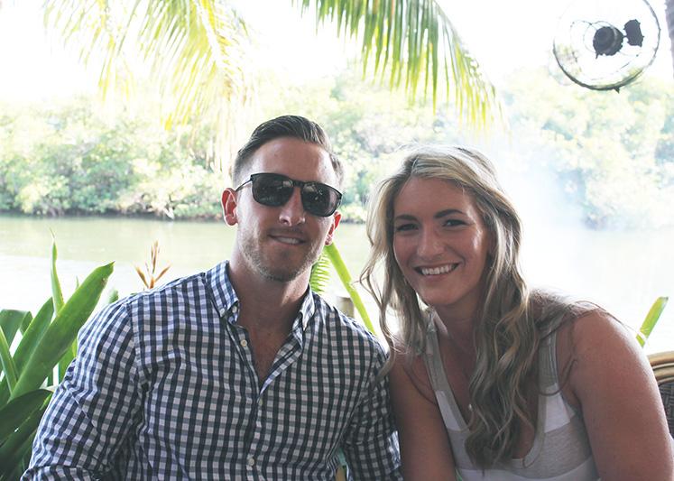 earl and joanna at guanabanas