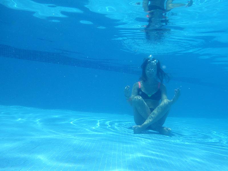 Dee Ohm Underwater