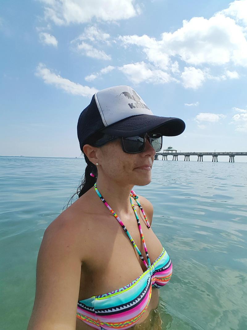 Selfie Pier View