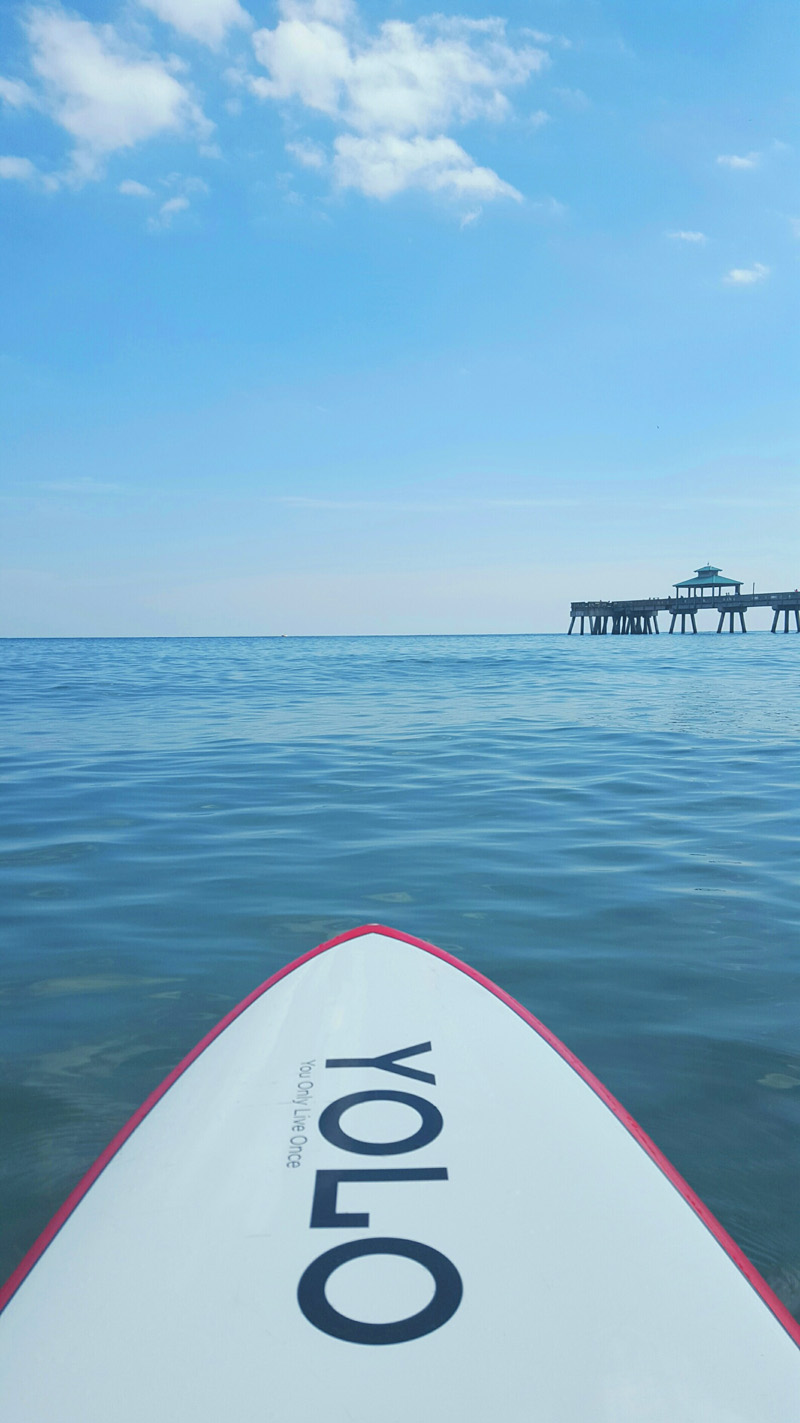 SUP Pier View