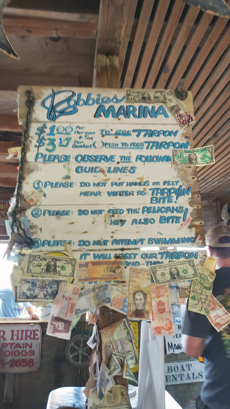 Robbies Price Board