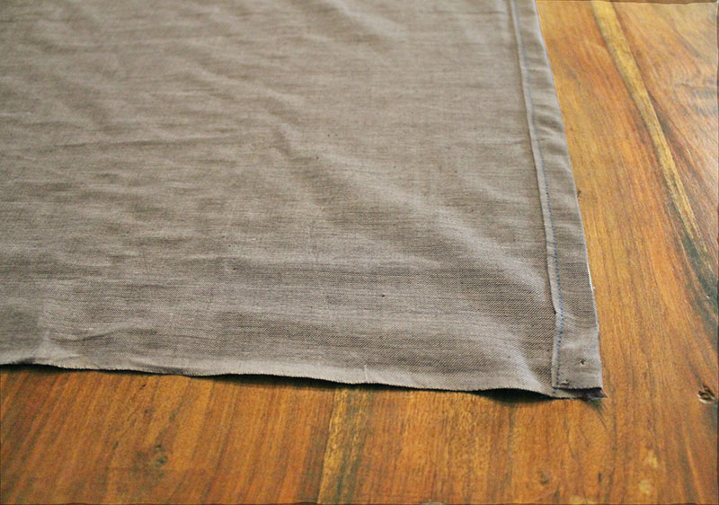 Skirt Hemmed Edge