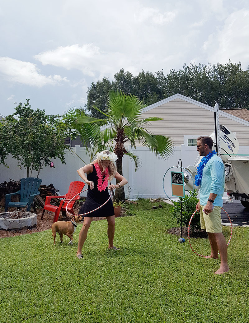 Earl and Jo Hula Hooping